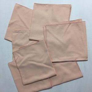 VINTAGE Cloth Napkins Square Textured 19x19 8